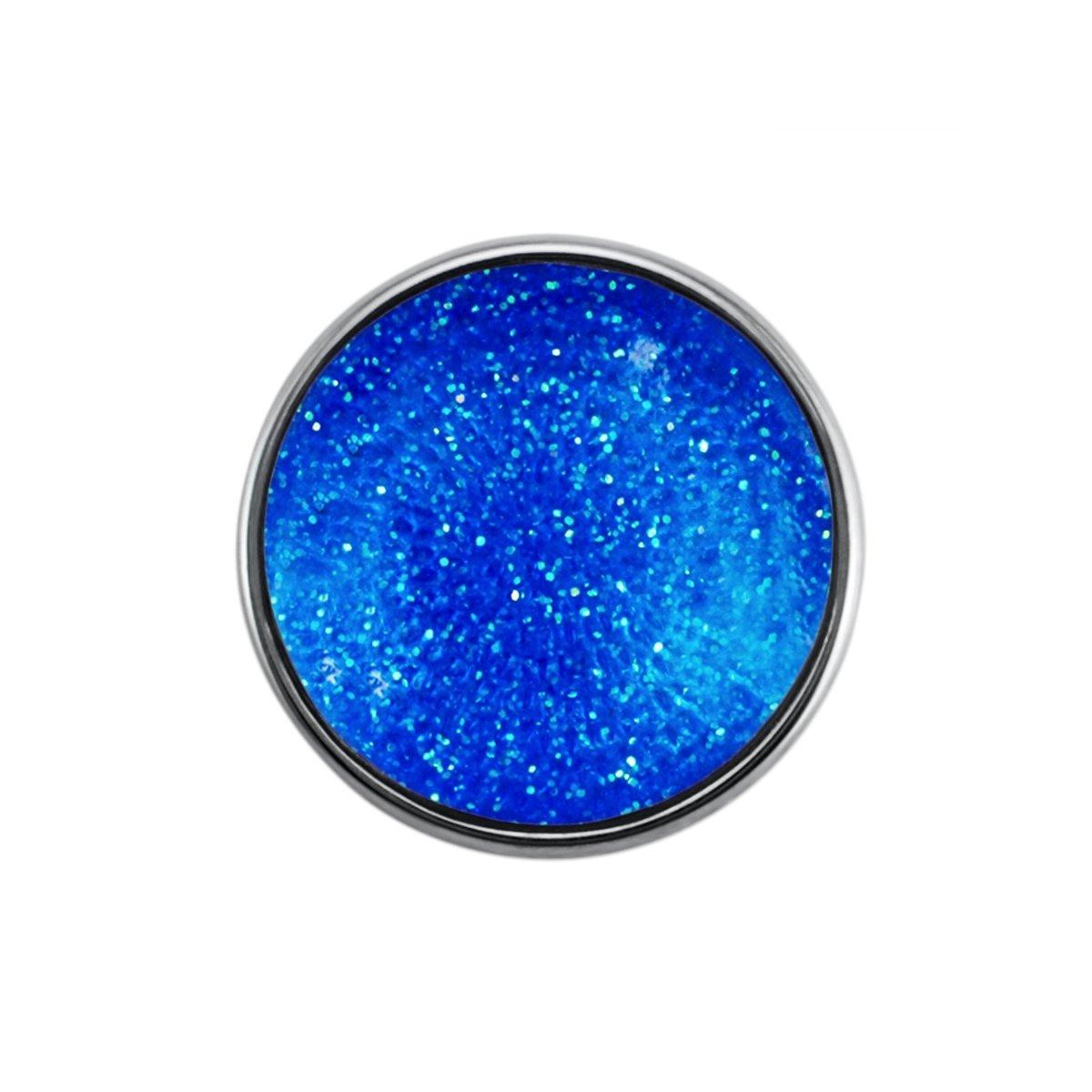 Quiges - Drukknoop Mini 12mm Space Blauw - EBCMK003 kopen