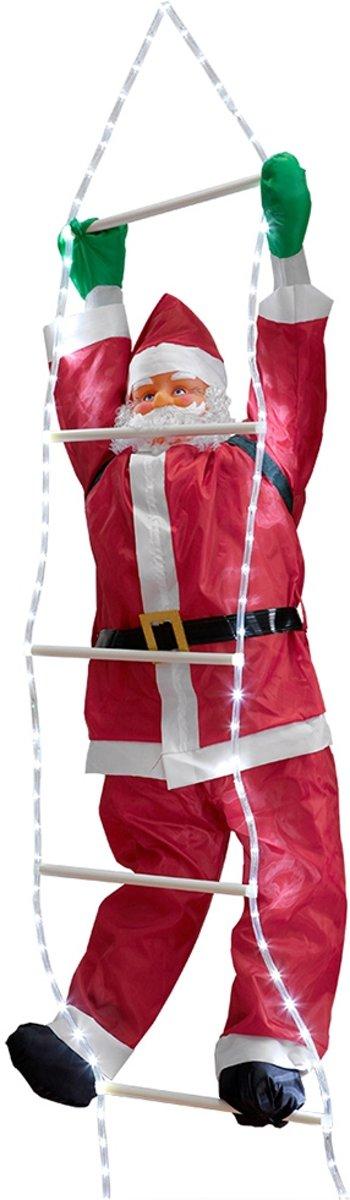 Led - Kerstman op ladder - 250-120x50cm kopen