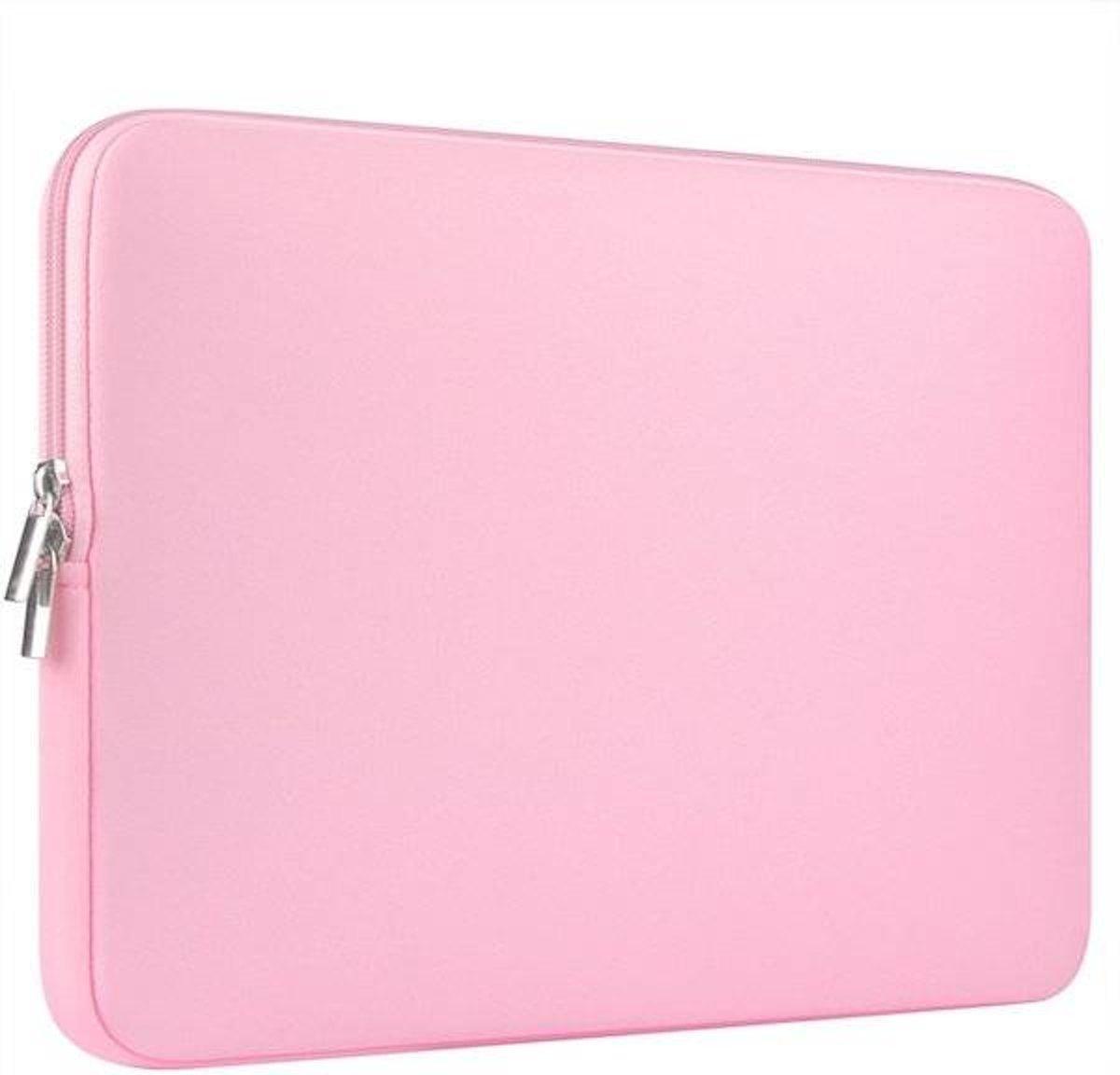 Lenovo 100e hoes - Neoprene Laptop Sleeve - 11.6 inch - Roze kopen