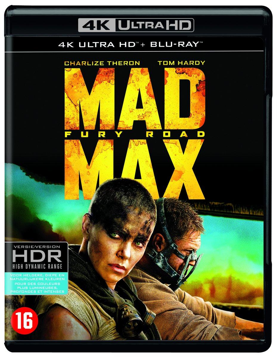 Mad Max: Fury Road (4k Ultra HD Blu-ray)-