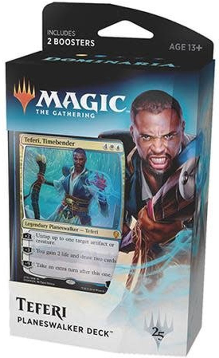 Magic the gathering: Dominaria - Planeswalker Deck: Teferi