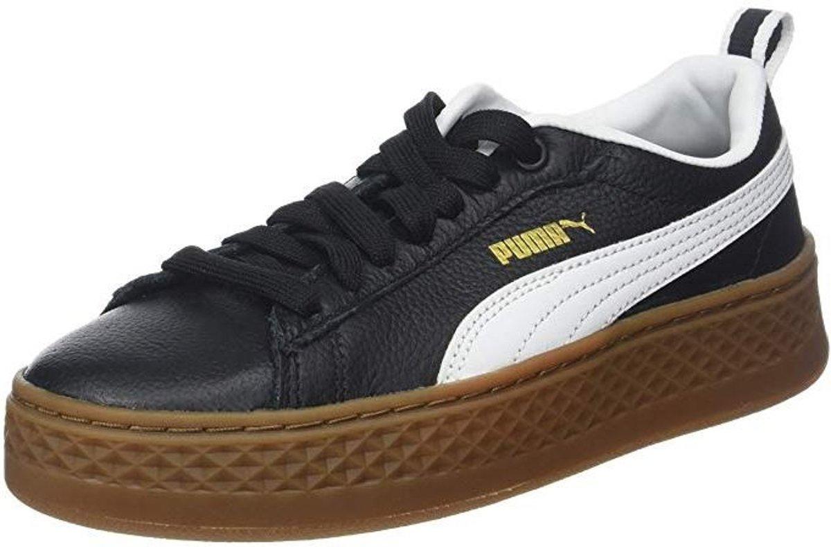 Puma sneakers Platform Trace Varsity dames zwart maat 41