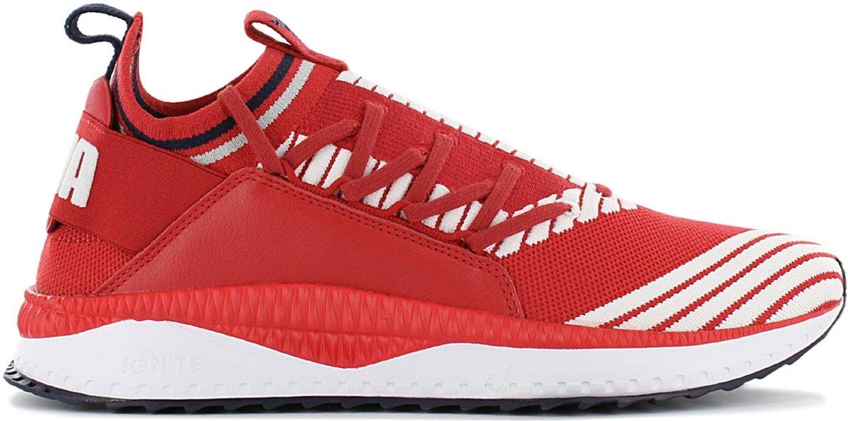 Puma Tsugi Jun Sport Stripes Sneakers voor Heren Wit