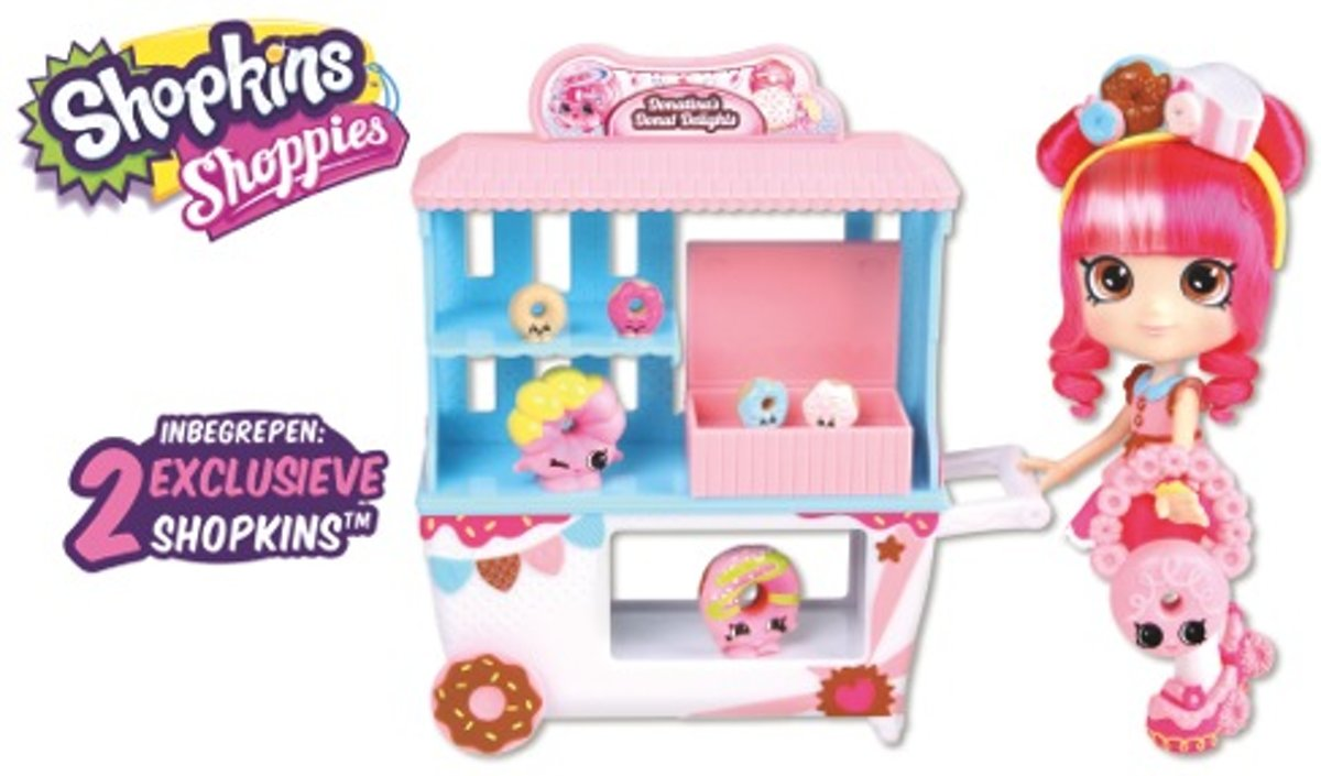 Shopkins - Shoppies - Donut Koffer