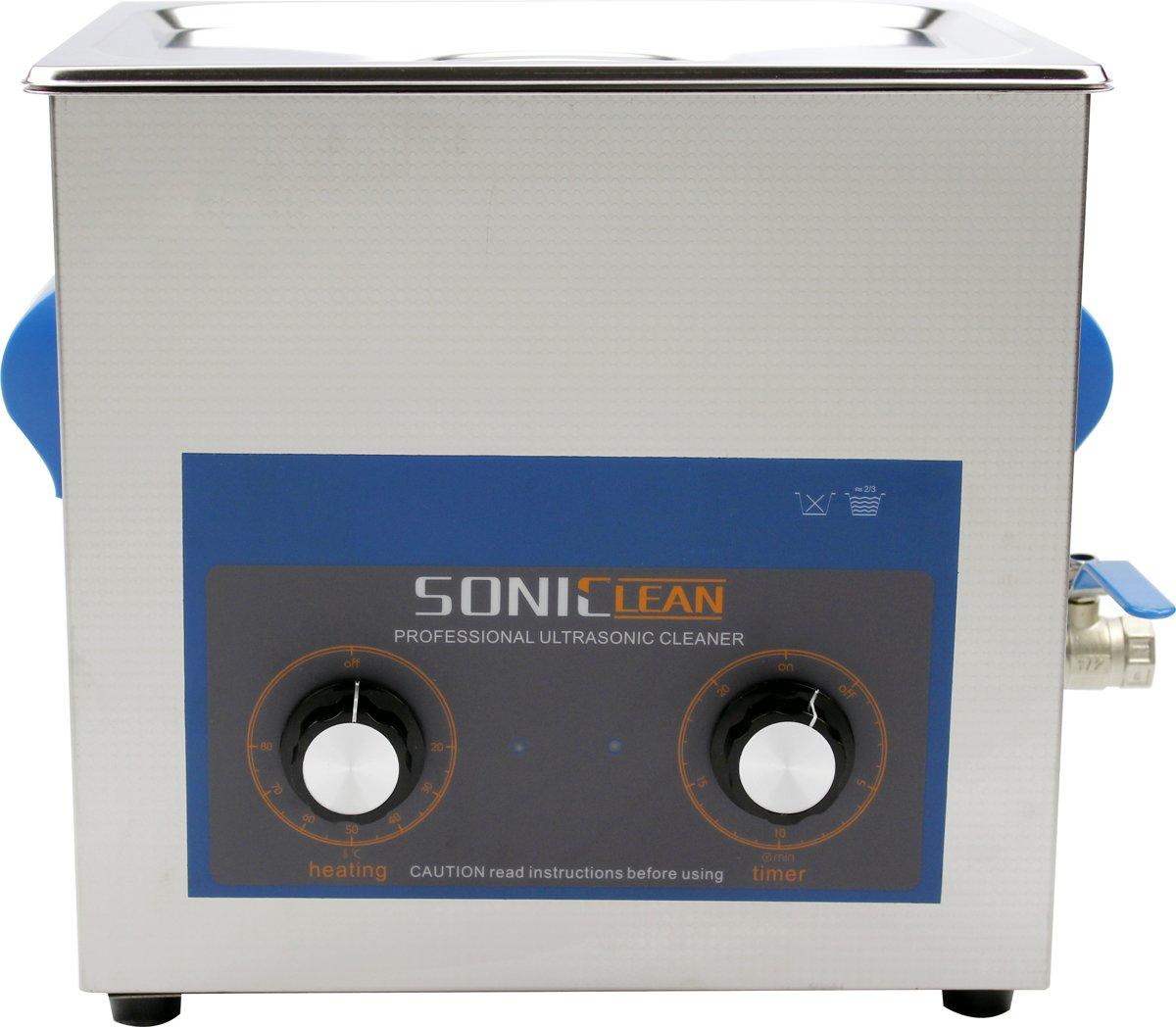 SonicClean ultrasoon reiniger ultrasone reiniger 10L met extra ultrasoon vermogen kopen