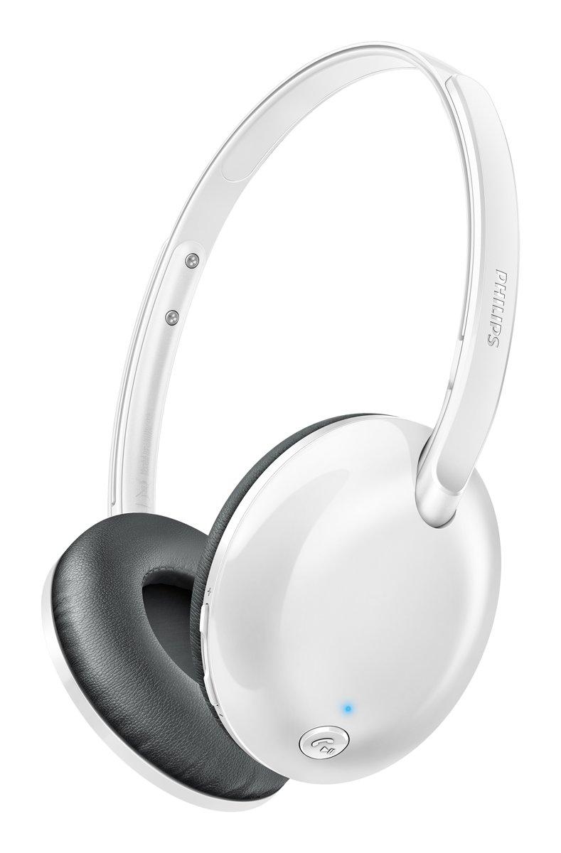 Philips SHB4405 - Draadloze on-ear koptelefoon - Wit voor €29
