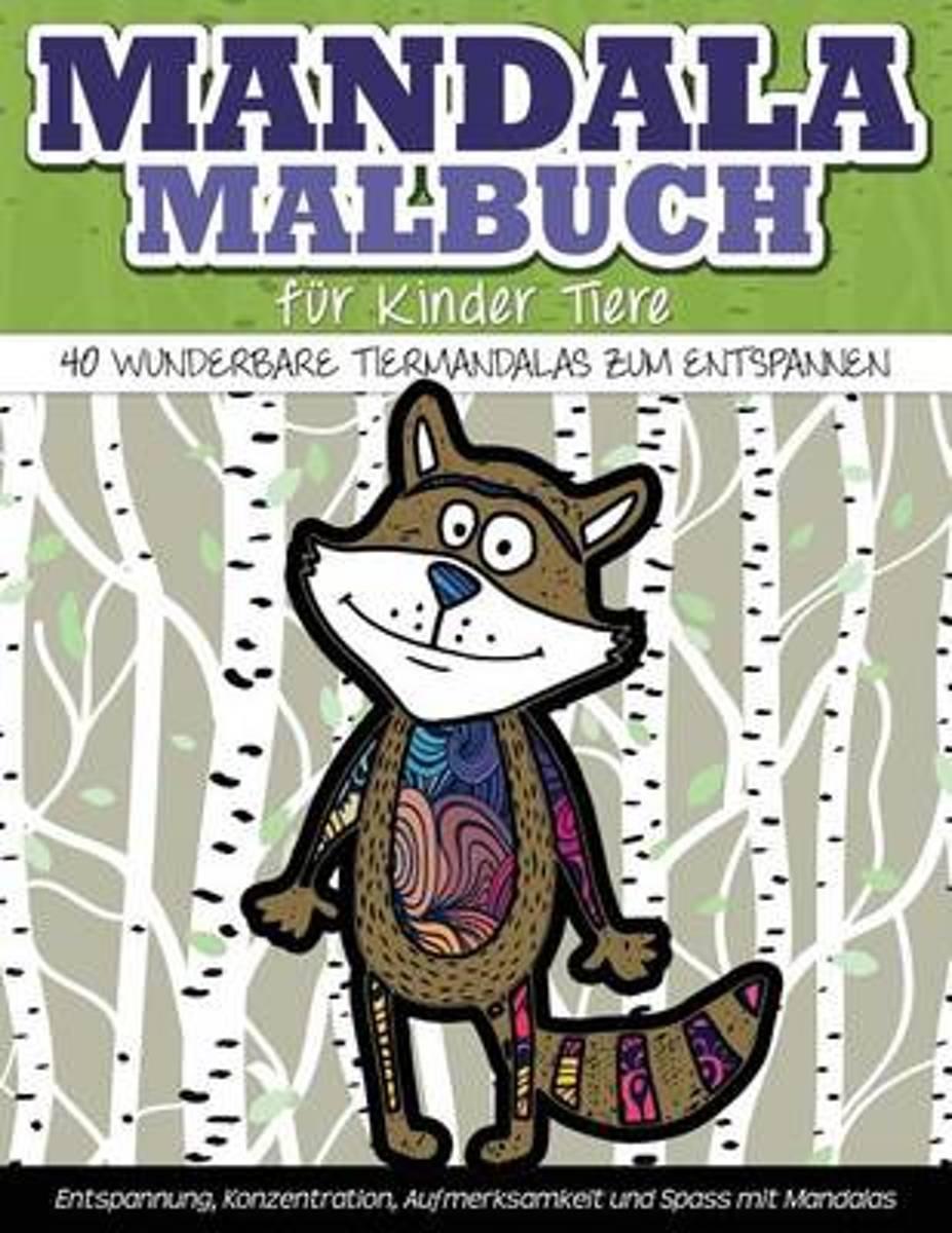bol.com | Mandala-Malbuch Fuer Kinder Tiere 40 Wunderbare ...