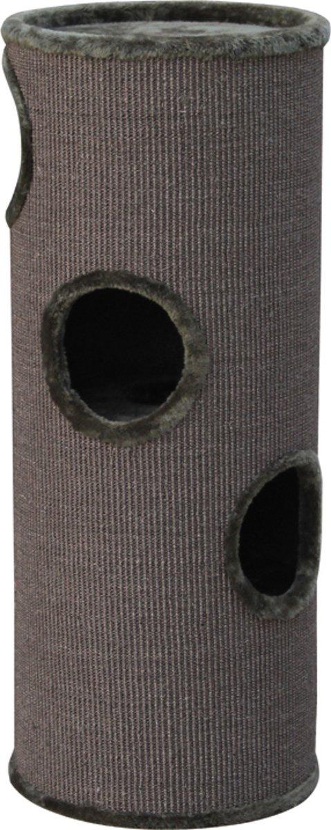 Nobby krabton dasha 3 sisal, pluche voering donkergrijs 38 x 98 cm - 1 st