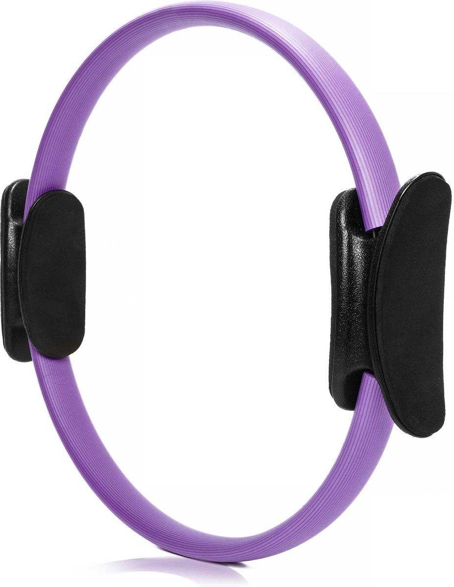 #DoYourFitness - 4x Pilates Ring - »Loop« - voor effectieve pilates-oefeningen - Ø 37,6 cm - violet (4x) kopen
