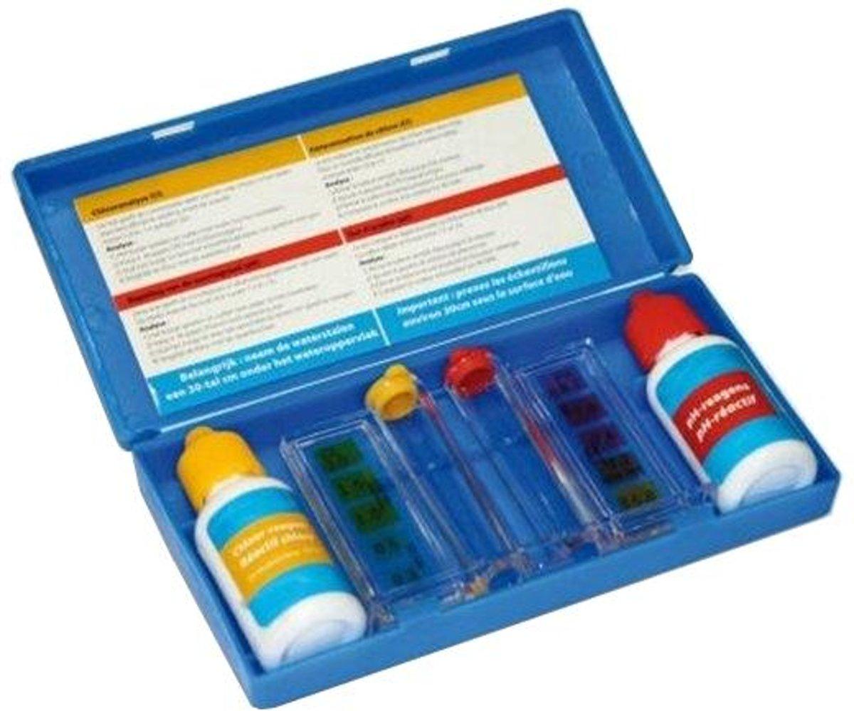 Test kit Chloor + pH bepaling - set van 3 stuks
