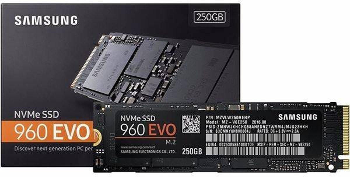 Samsung 960 EVO   MZ-V6E250   SSD   250GB   M.2 kopen