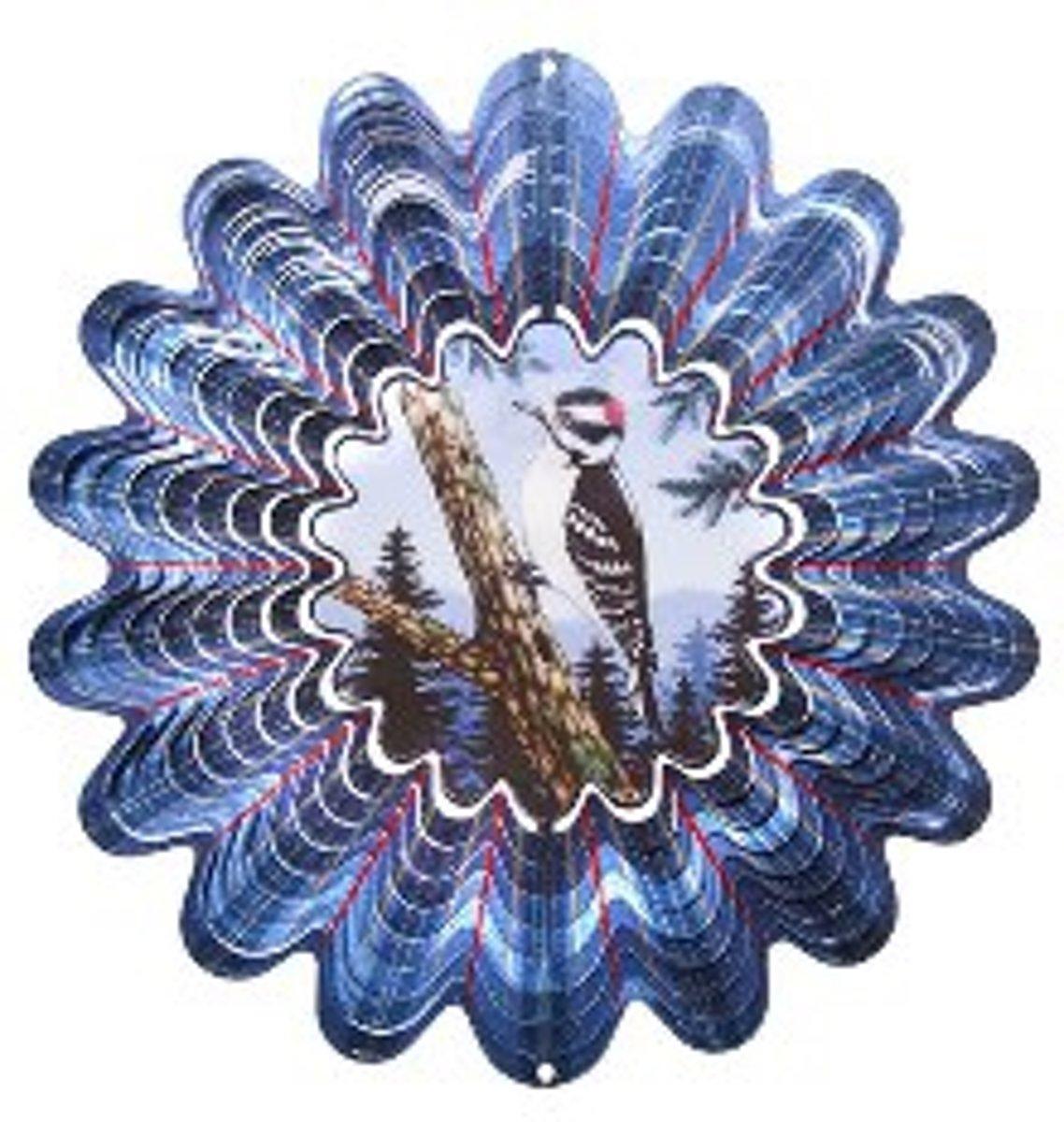 Iron Stop Decoratief object Windspinner Woodpecker kopen