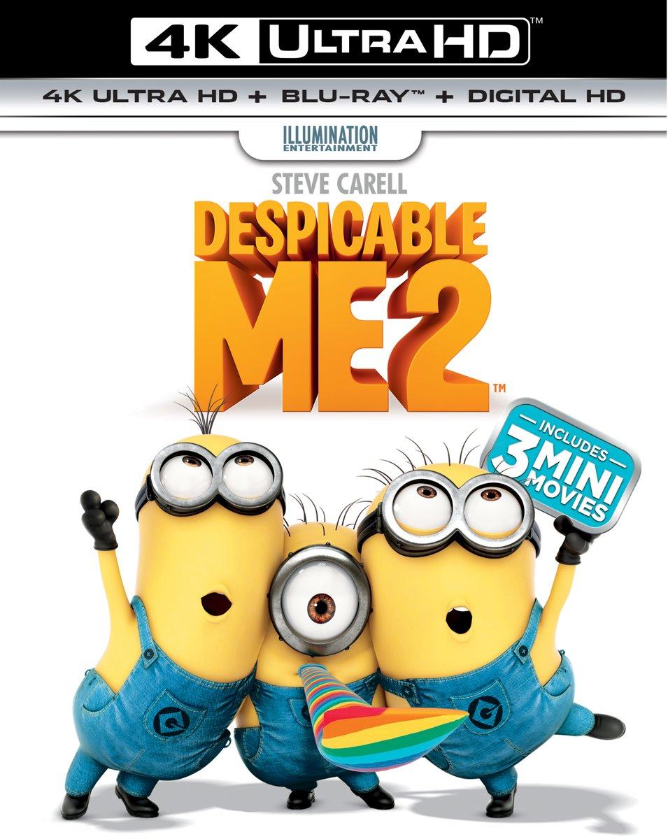 Verschrikkelijke Ikke 2 (Despicable Me 2) (4K Ultra HD Blu-ray)-