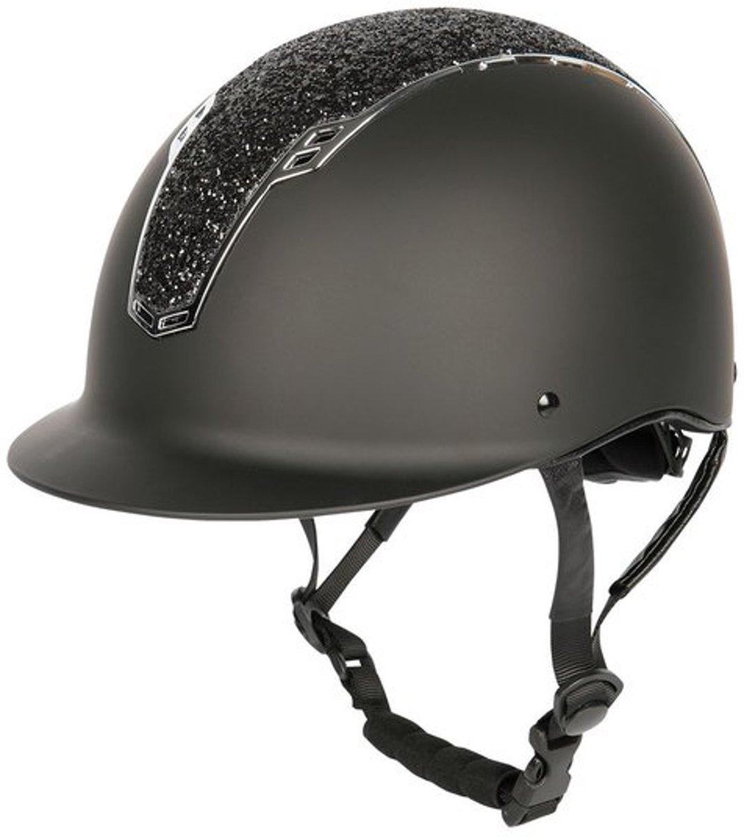 Harry's Horse Veiligheidscap, Centaur NXT M-L zwart-zilver