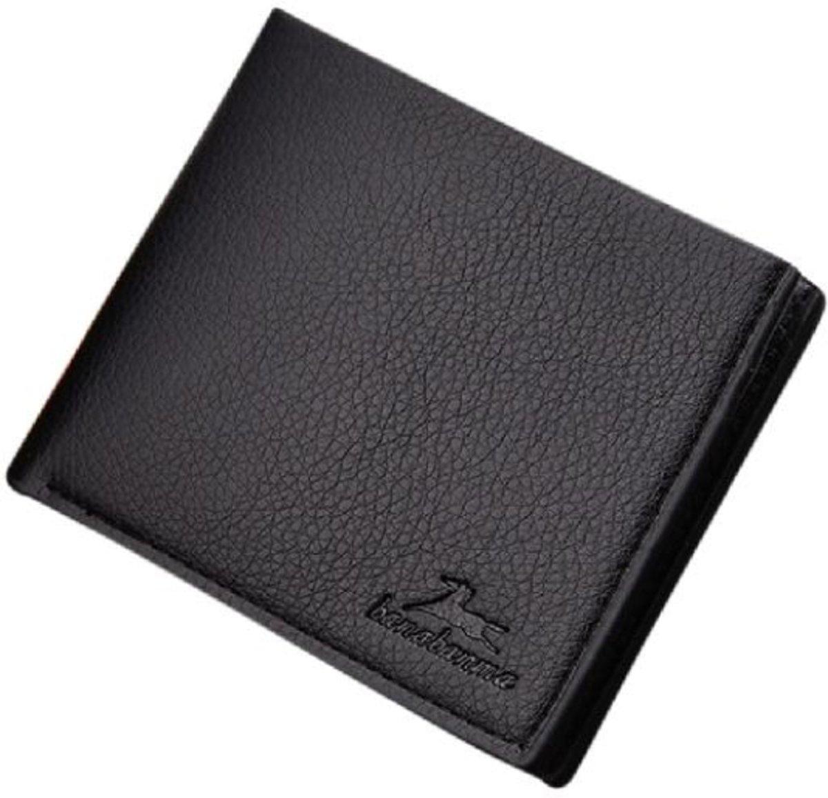 Luxe Zwarte Portemonnee – Portefeuille Heren Billfold