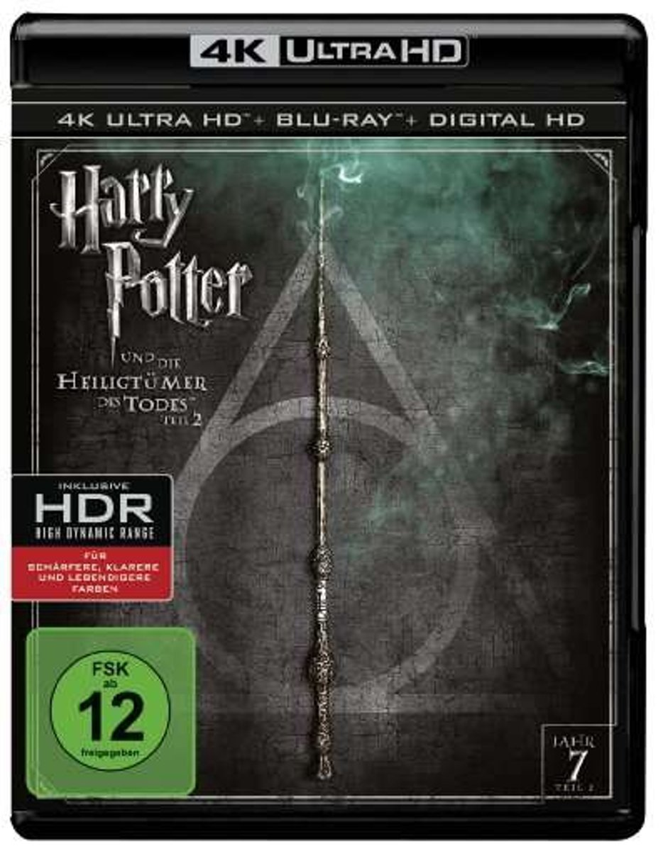 Harry Potter And The Deathy Hallows Part 2 (4K Ultra HD Blu-ray) (Import)-