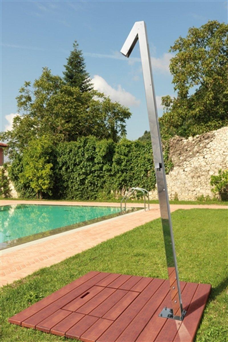 RVS Buitendouche Zenit Q70 Mix (gepolijst) kopen