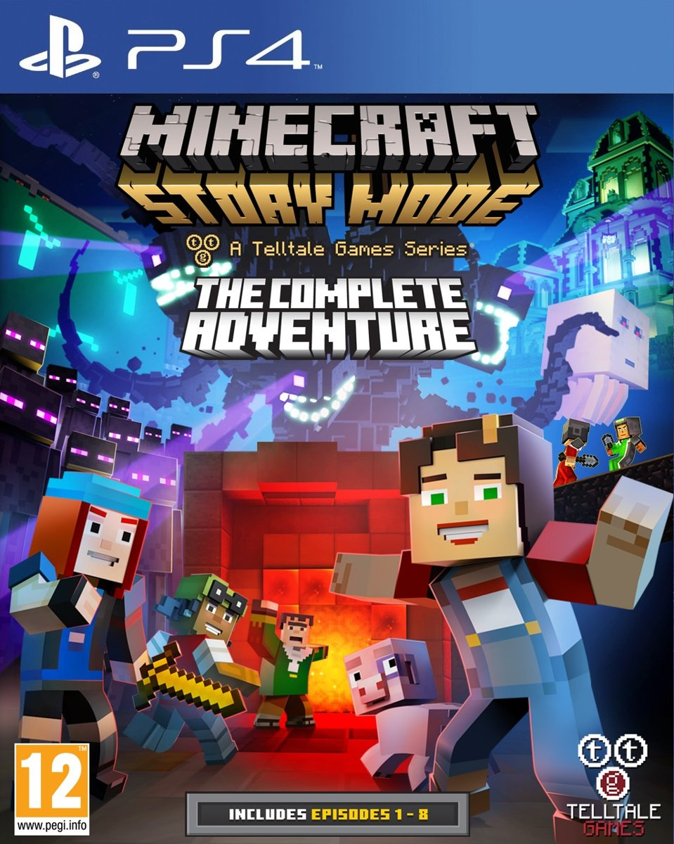 Minecraft - Story Mode: The Complete Adventure PlayStation 4