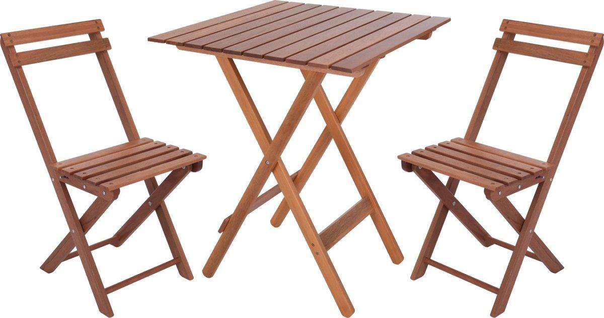 Bistroset Ambiance - tafeltje + 2 stoelen kopen