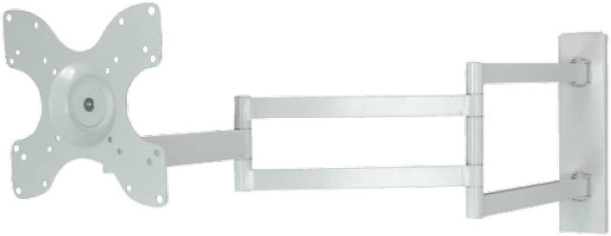 DQ STB-2237-1-W - Kantelbare en draaibare muurbeugel - Geschikt voor tv's van 15 t/m 32 inch - Wit kopen