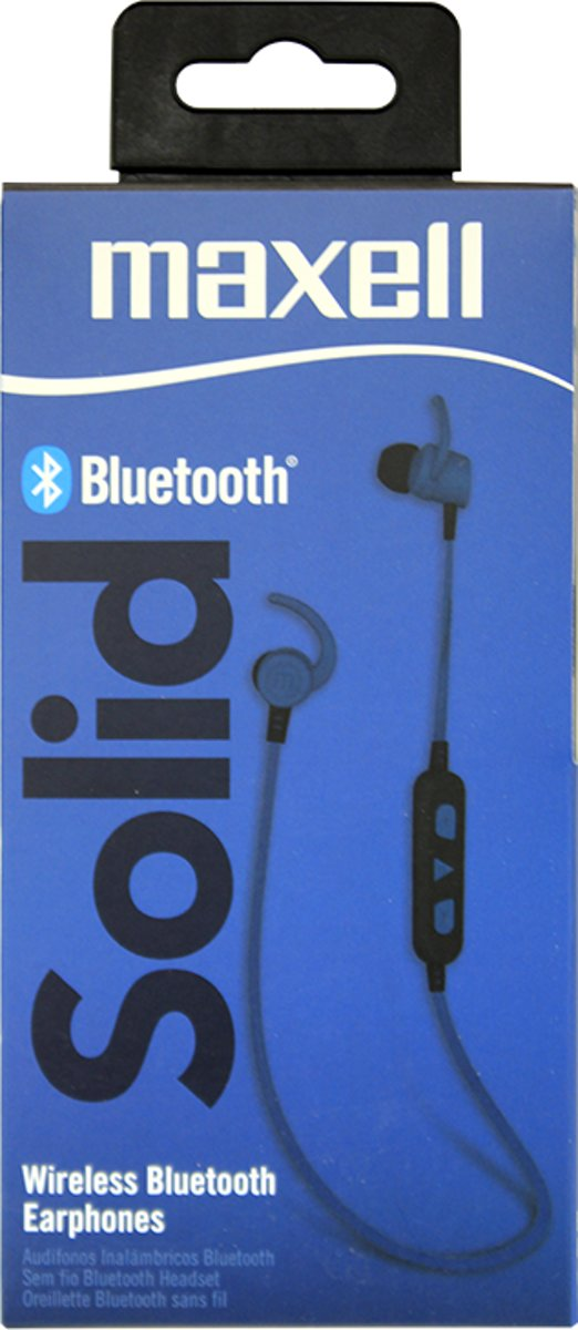 Maxell Solid bluetooth blue kopen
