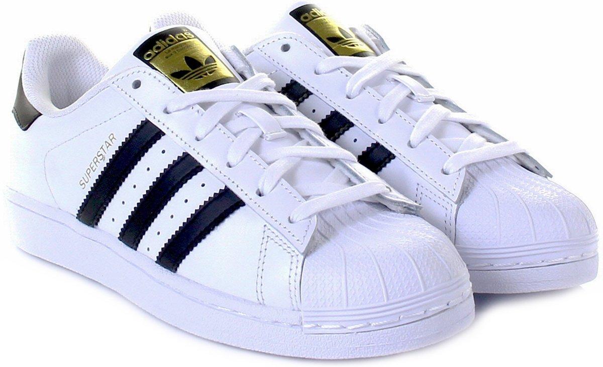 adidas sneakers originals superstar heren blauw maat 46 23