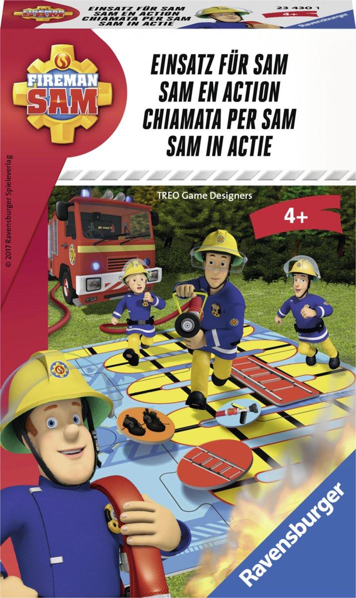 Ravensburger Brandweerman Sam in actie - pocketspel
