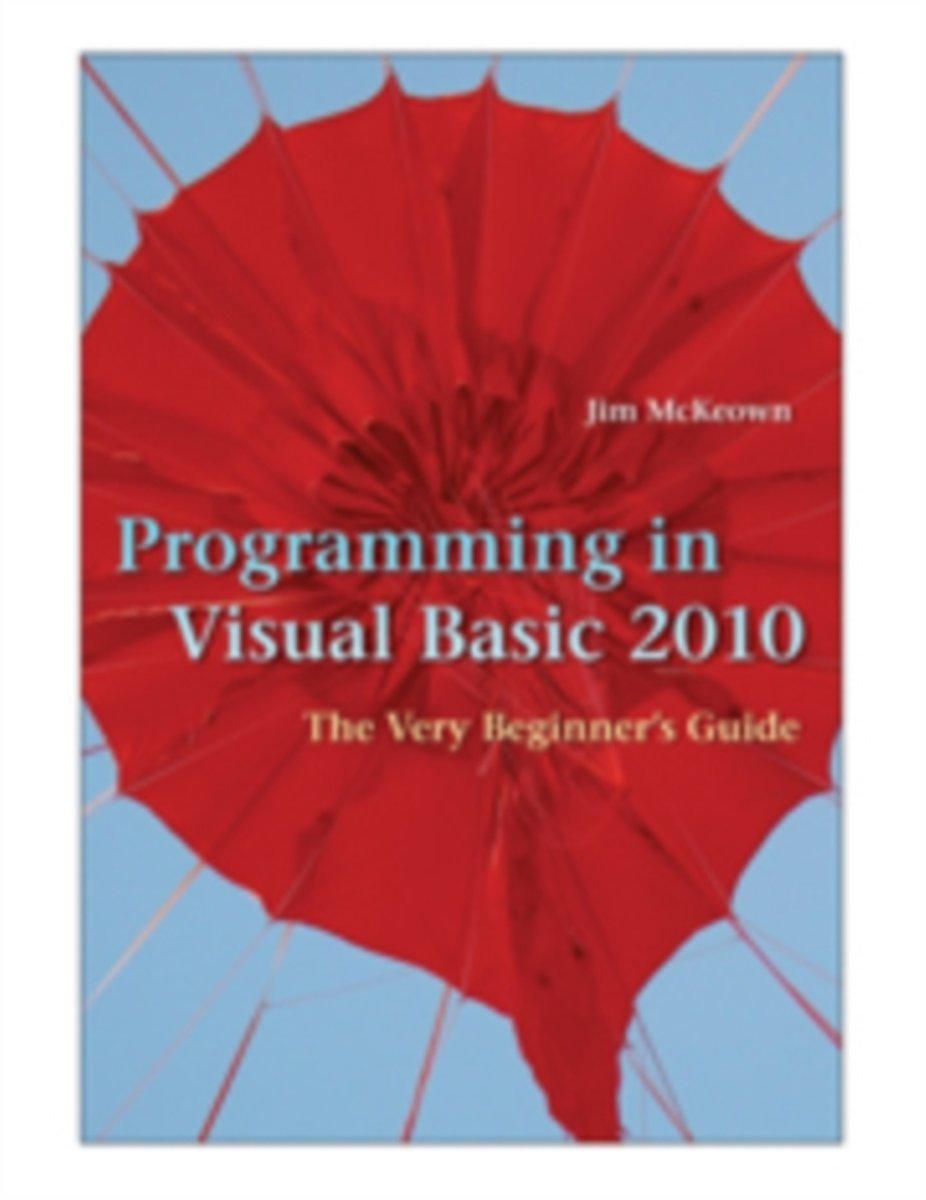 bol.com | Programming in Visual Basic 2010 | 9780521721110 | Jim Mckeown |  Boeken