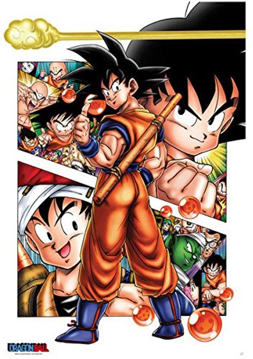 DRAGON BALL - Poster 68X98 - DB/Son Goky Story kopen