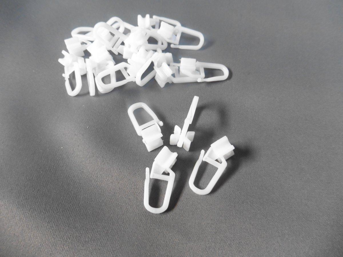 Plastic Gordijn Haakjes : Plastic curtain hooks interesting design plastic hooks curtain
