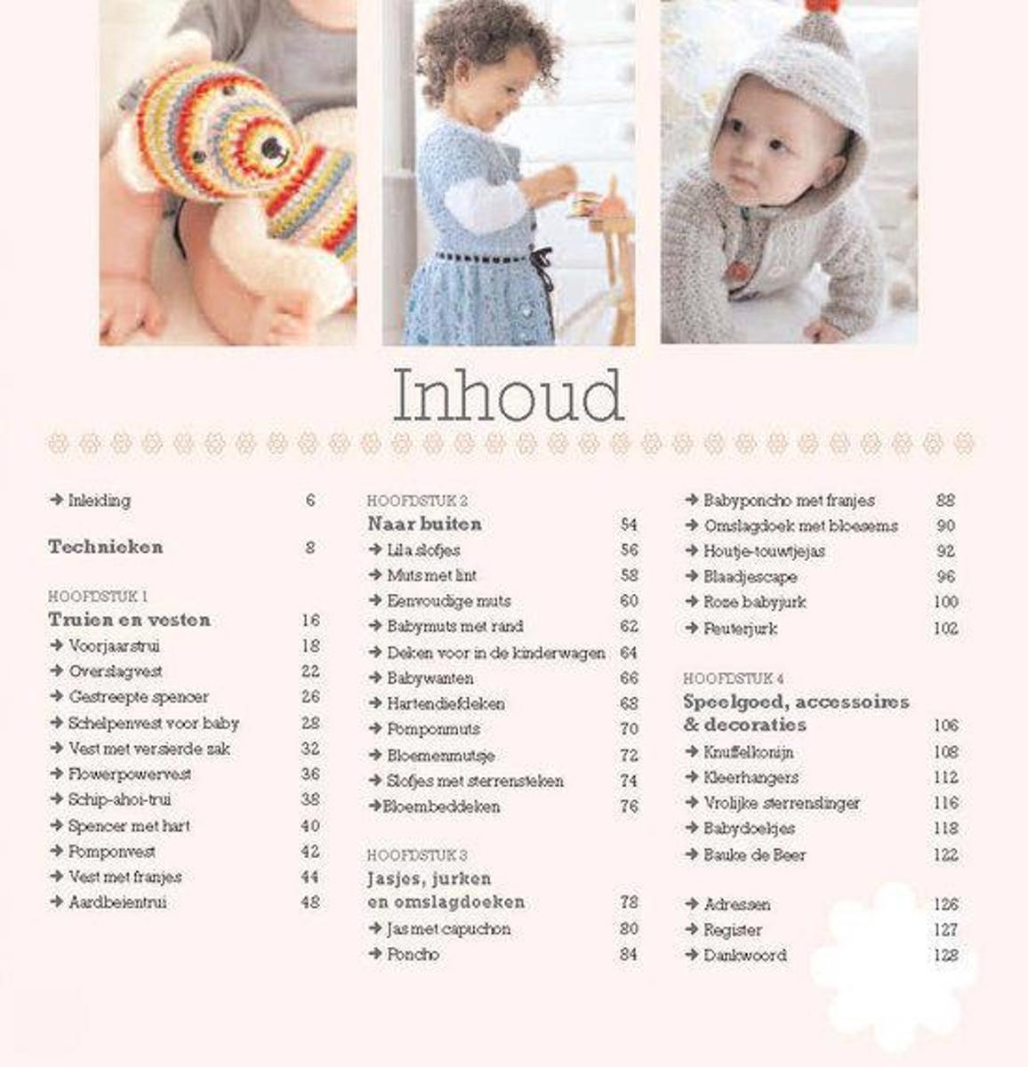Bolcom Haken Voor De Baby Nicki Trench 9789058779786 Boeken
