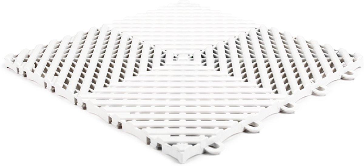 Open kliktegel hard wit 30x30x1,5cm (set van 10 stuks) kopen