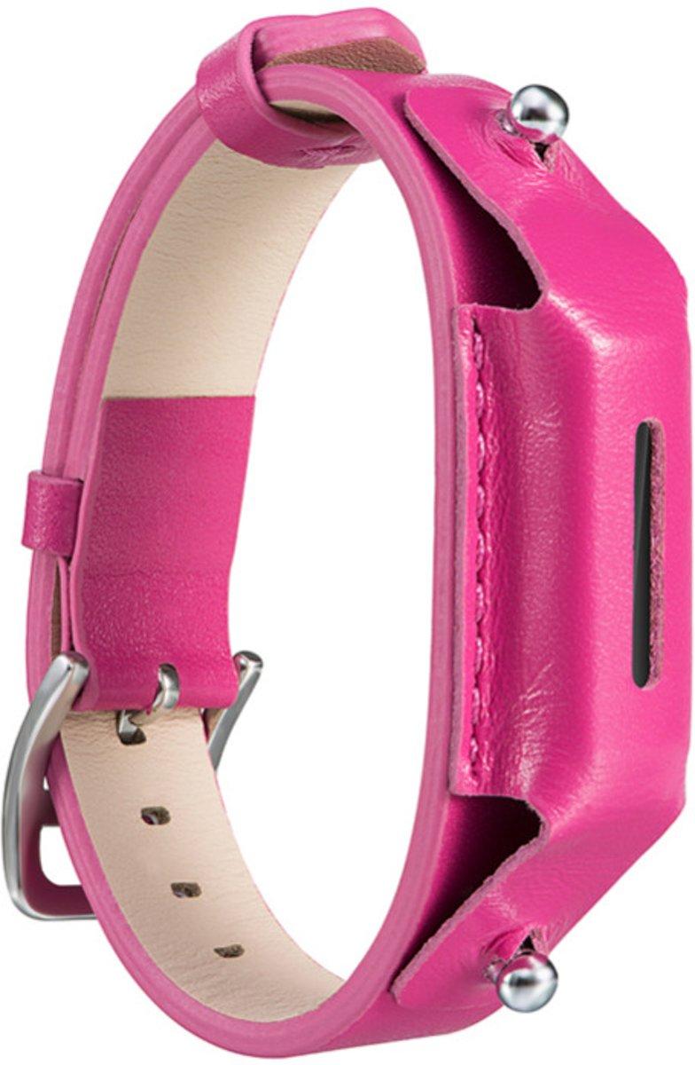 TinyBand Eco Leer Armband voor Fitbit Flex 2 - Roze kopen