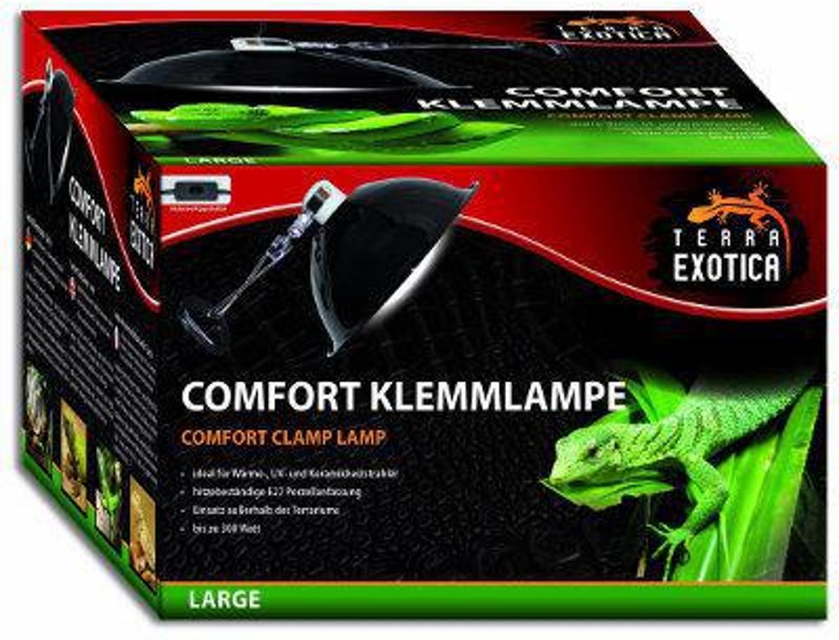 Terra Exotica Terrariumverlichting - Comfort Klemlamp - 250W