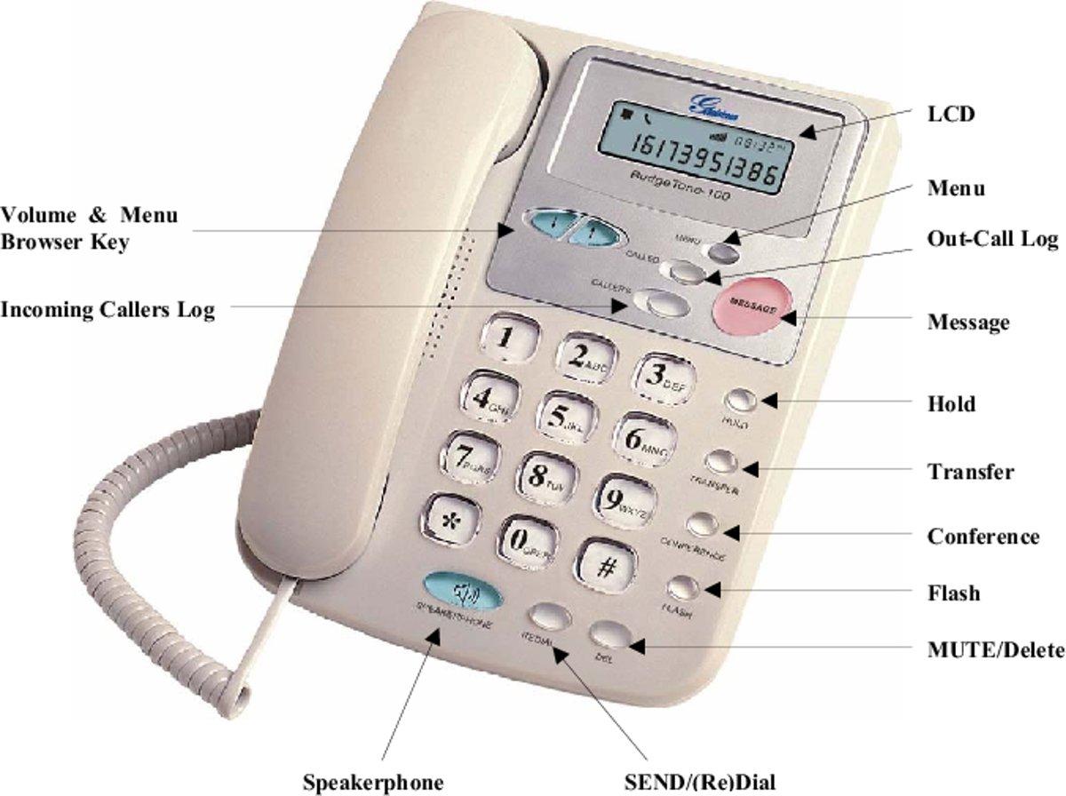 Grandstream Budgettone 100 VOIP Telefoon kopen