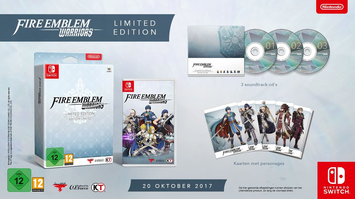 Fire Emblem Warriors - Limited Edition Switch