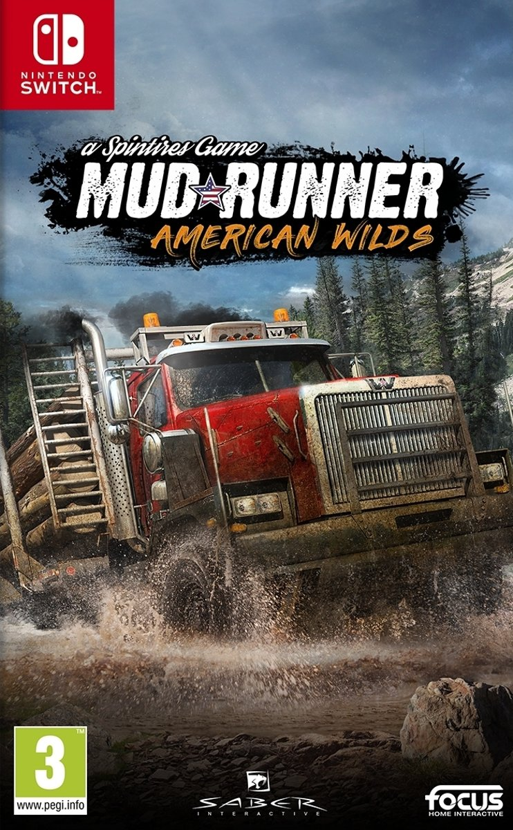 Spintires: MudRunner- American Wilds Edition Switch