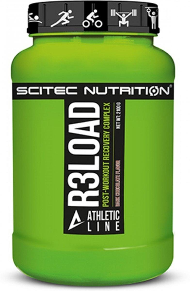 Scitec Nutrition - Athletic Line - R3Load - Post workout complex - 2100 g - 21 Porties - Poeder - Dark Chocolate kopen