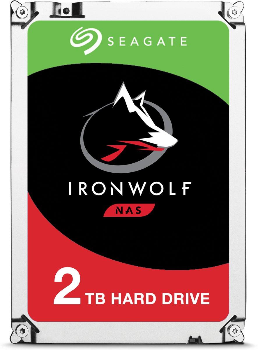 Seagate IronWolf - Interne harde schijf - 2 TB