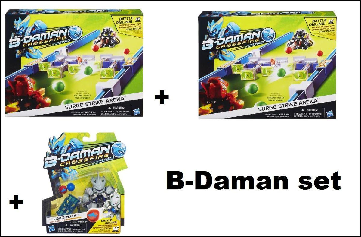 B-Daman Crossfire Super set compleet