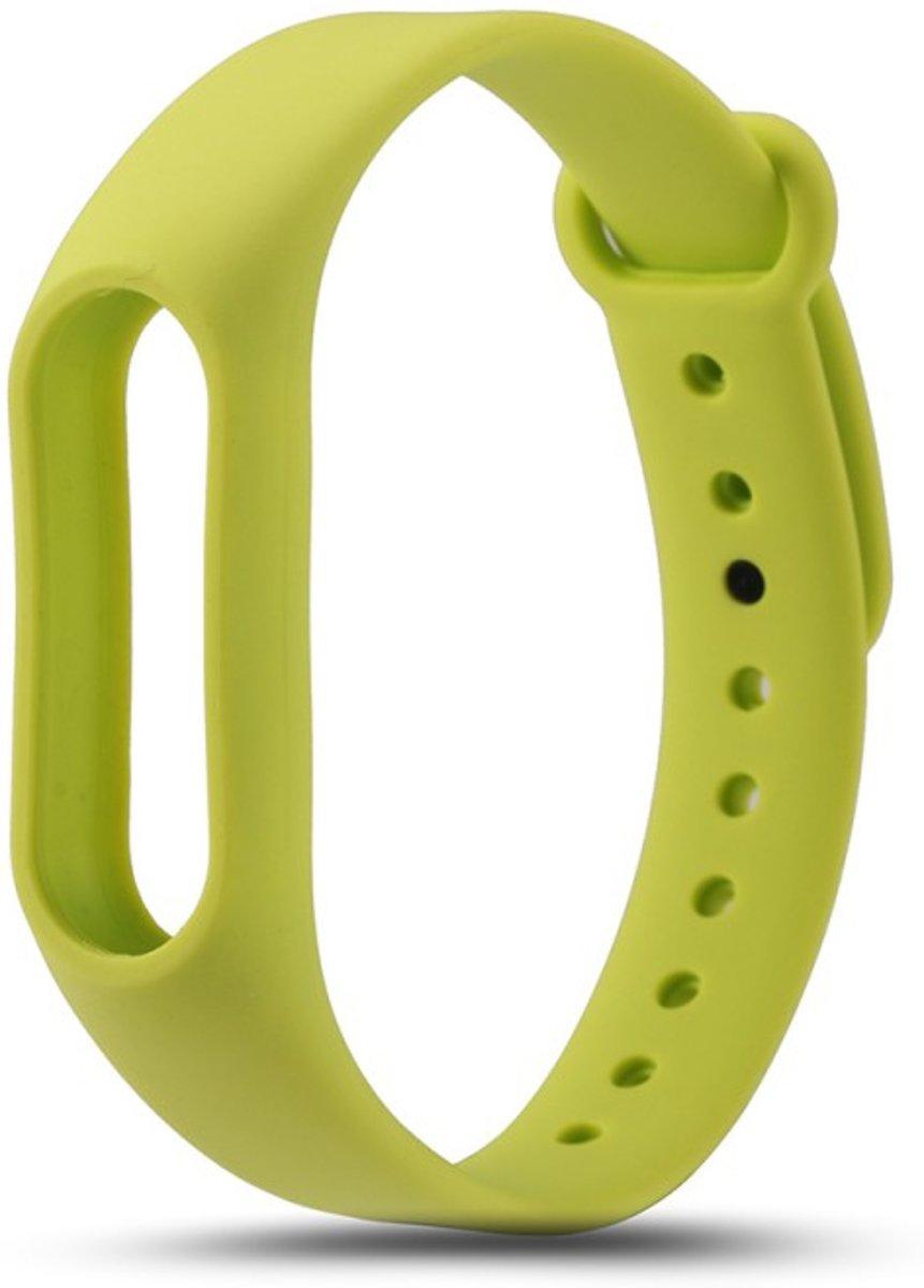 TPU armband voor Xiaomi Mi Band 2 - Appel groen kopen
