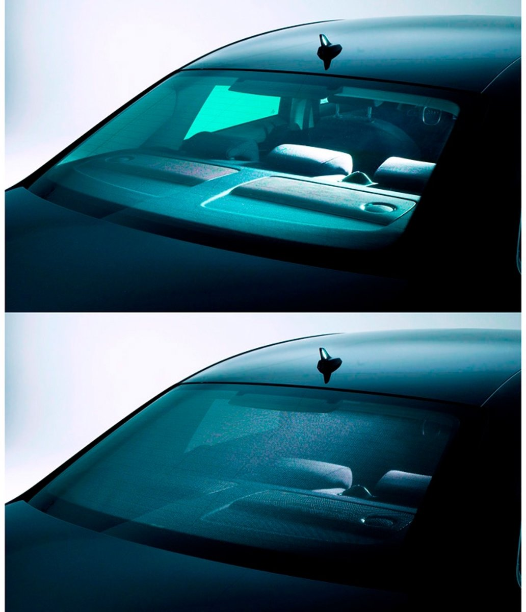Destro R.1350 Solo Vetro con Biadesivo Cromato Specchio Retrovisore specchietto esterno
