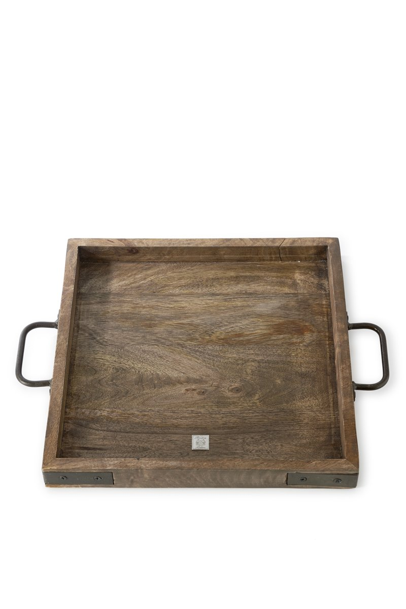 Riviera Maison - Rossford Tray Square - 35x35 - Dienblad - Hout