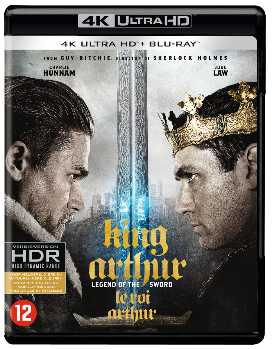King Arthur : Legend of the Sword (2017) (4K Ultra HD Blu-ray)-