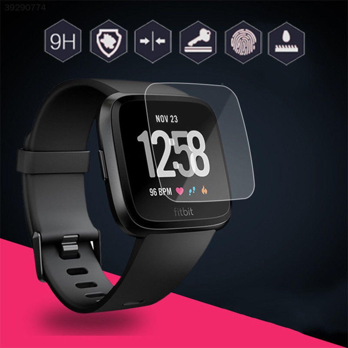 Fitbit Versa Screenprotector Tempered Glass Glazen Gehard Transparant - Screen Protector van My Smartwatch kopen