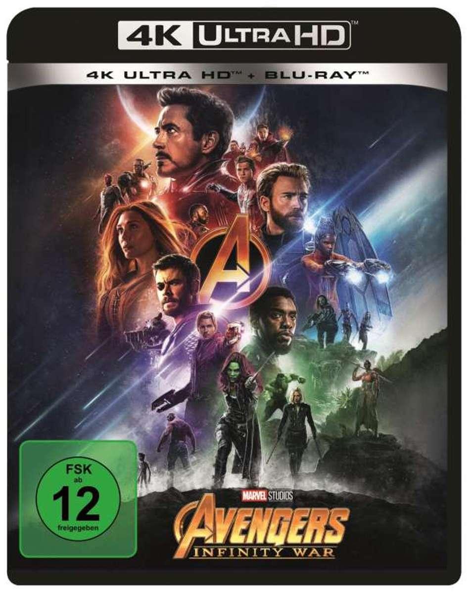 Avengers: Infinity War (4K Ultra HD Blu-ray & Blu-ray) (Import)-