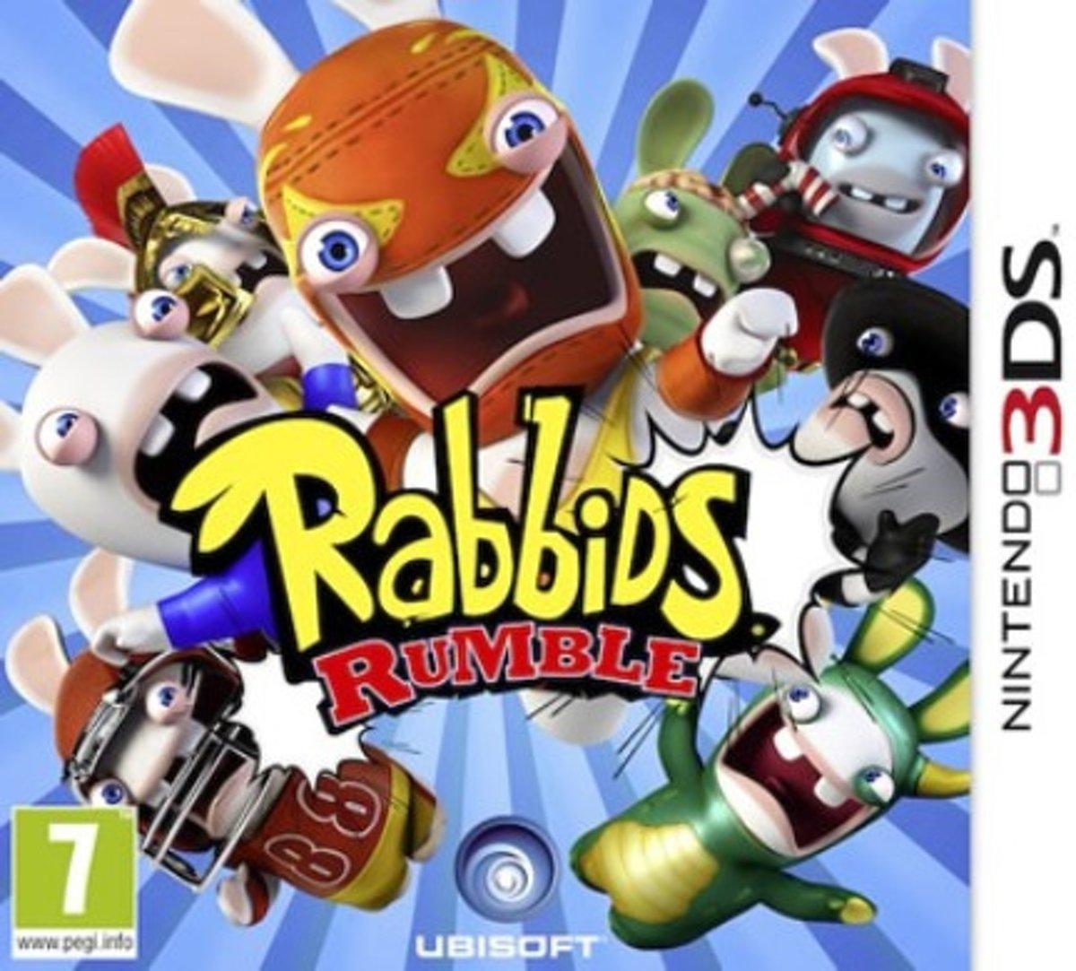 Rabbids Rumble 3D - 2DS + 3DS kopen