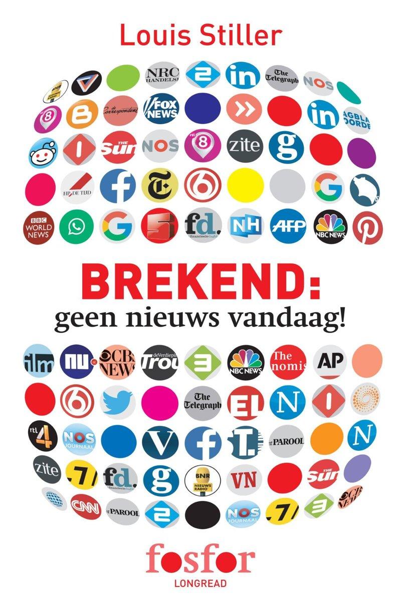 Bol Com Brekend Geen Nieuws Vandaag Ebook Louis Stiller