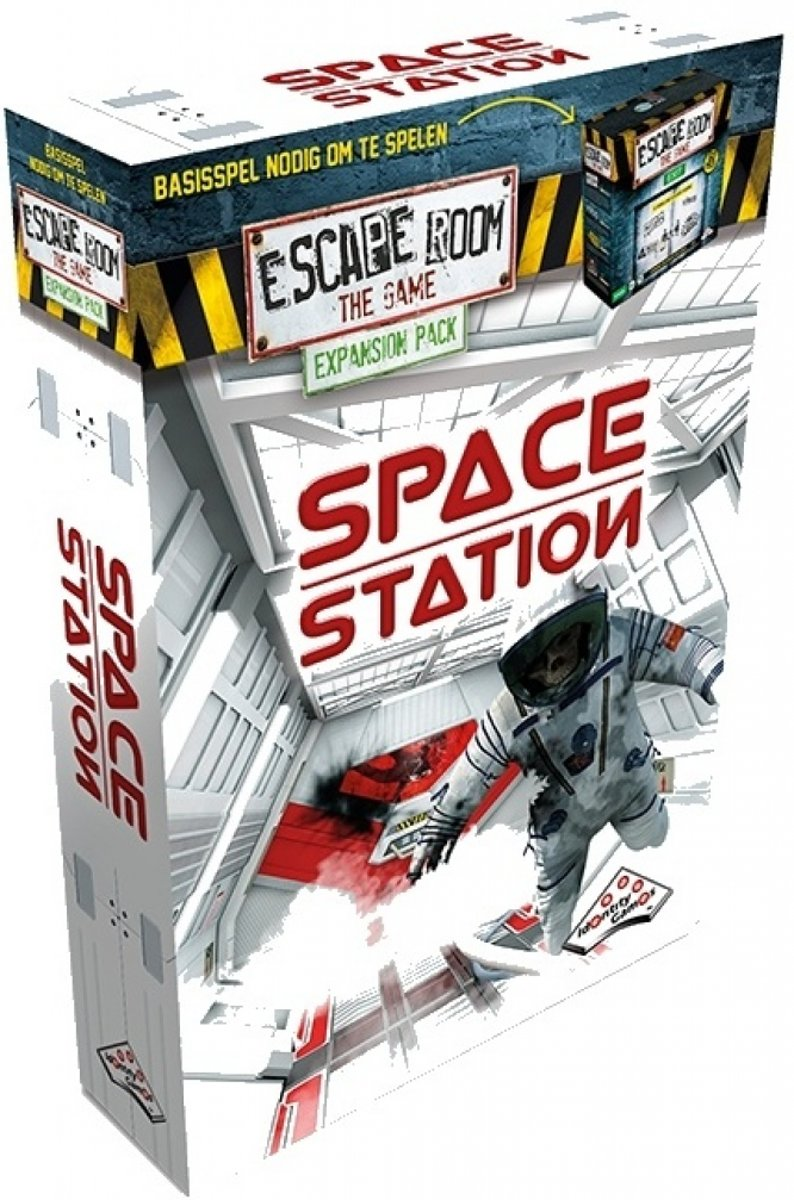 Identity Games Escape Room: The Game expansion Space Station