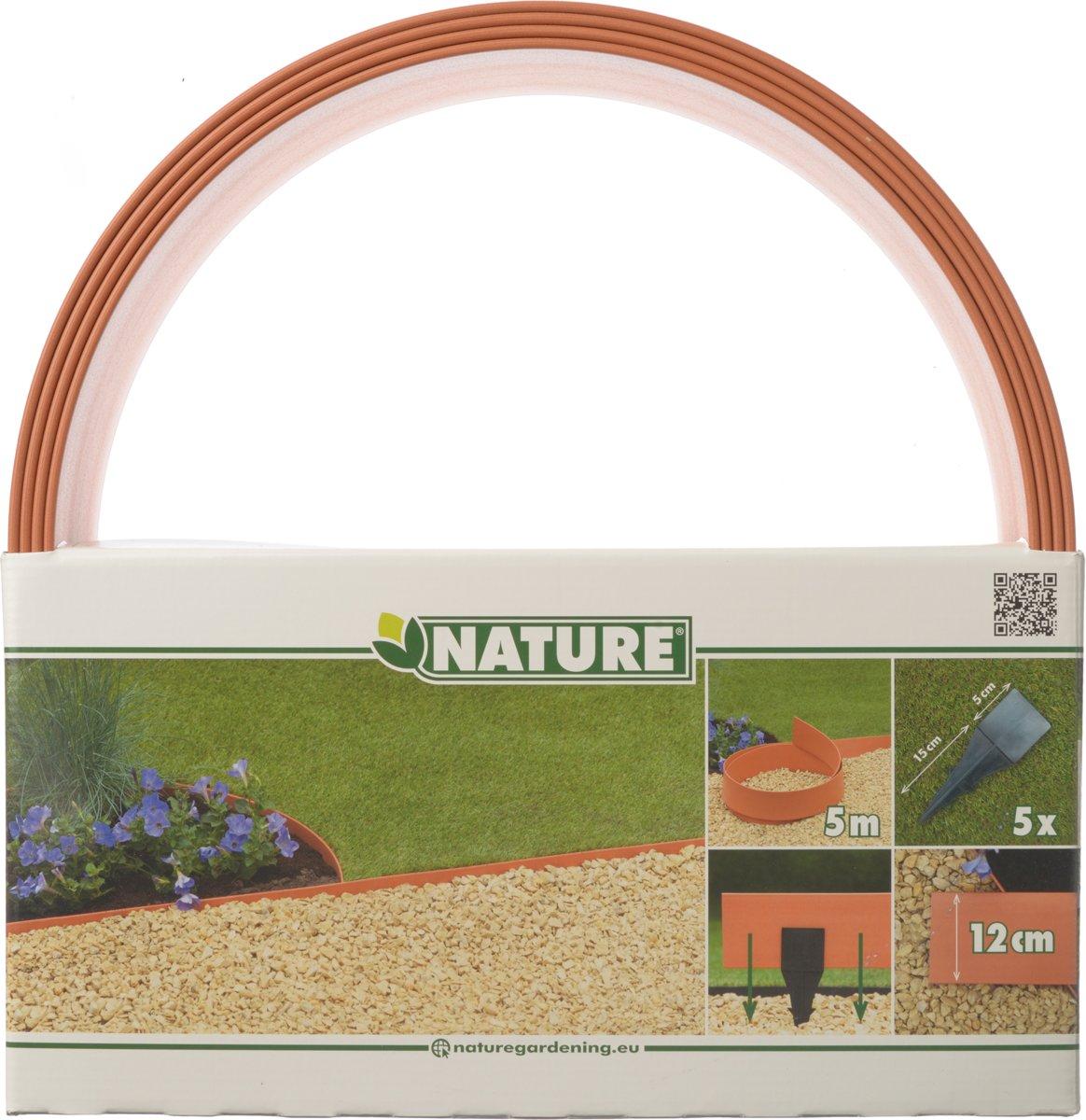 Nature - Borderrand - Terracotta - Hoogte 12cm x 5m - Dikte 4,5mm kopen